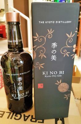 Kinobi Gin Kyoto Dry Gin + GB 45,7%