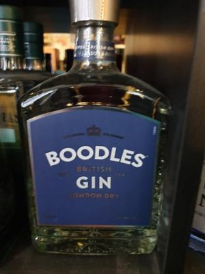 Boodles British London Dry Gin 40% Vol. 0,7 l € 19,90