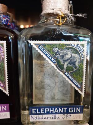 Elephant Strength Dry Gin 57% vol. 0,50l zum Mitnehmen 34,90