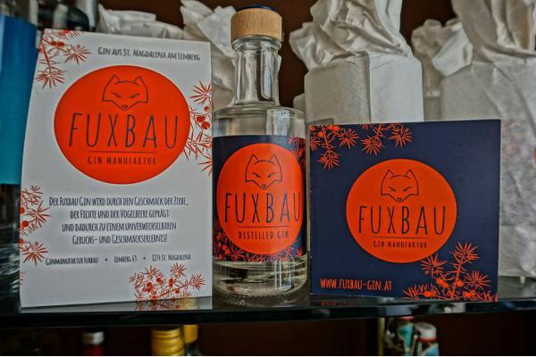 Der Fuxbau Gin aus dem steirischen St. Magdalena am Lemberg