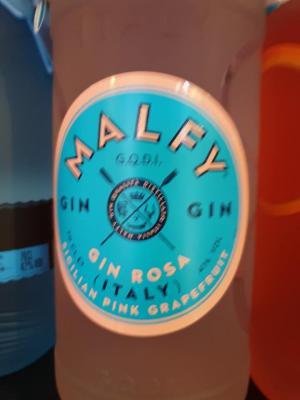 Malfy Gin aus Moncalieri im Piemont mit Grapefruitinfusion.