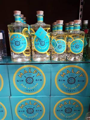 Malfy Gin 0,7 Liter Zitroniger Gin aus Italien