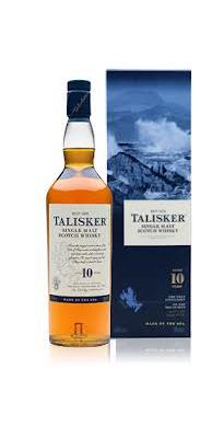 10 Jahre hat dieser Whisky von Talisker auf der Insel Skye gereift.