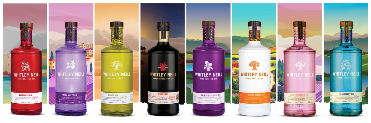 Whitley Neill Handcrafted Dry Gin Aktion 19,90
